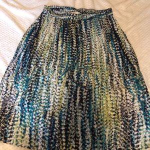 Christopher and banks skirt size medium